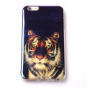 Tiger head TPU iPhone 6 Plus soft case