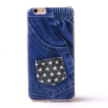 American Jeans soepel TPU case jeans iPhone 6 Plus hoesje