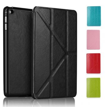 Etui smart case revêtement cuir iPad Air 2