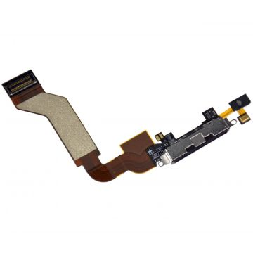 iPhone 4S dock connector zwart - iphone reparatie