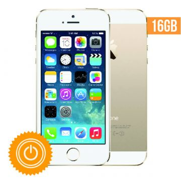 iPhone 5S - 16 Go Or reconditionné - Grade A