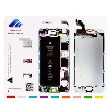 magnetic Screw Hole Distribution Board iPhone 6 Plus