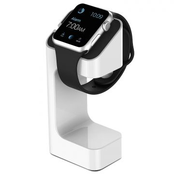 Station de charge e7 stand blanc pour Apple Watch 38mm et 42 mm