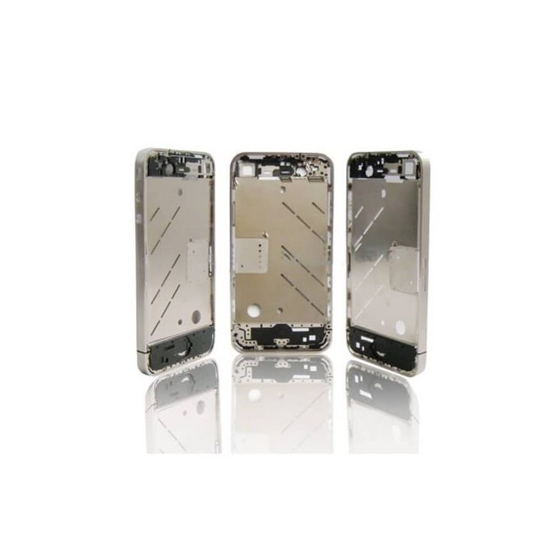 Frame and metallic border bezel for iPhone 4S
