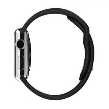 Black Apple Watch 38mm Strap