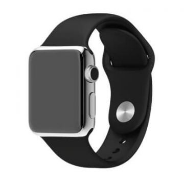 Black Apple Watch 40mm & 38mm Strap