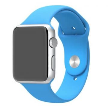 Bracelet Apple Watch 42mm Bleu