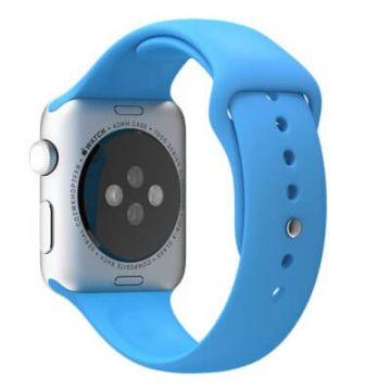 Blue Apple Watch 0,38mm Strap