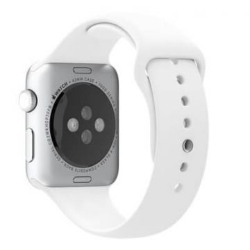 Wit bandje Apple Watch 38mm siliconen
