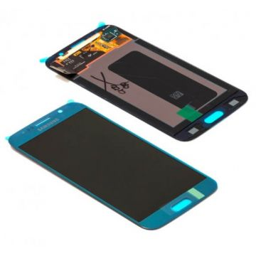 Original quality complete screen for Samsung Galaxy S6 in blue