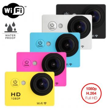 Camera Waterproof Full HD équipée wifi