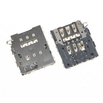 Original SIM connector Samsung Galaxy S6 Edge