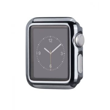 Kit Bracelet + Coque Hoco Gris pour Apple Watch 38mm