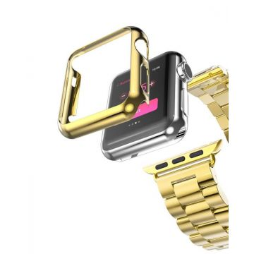 Hoco kit goud bandje en case Apple Watch 42mm