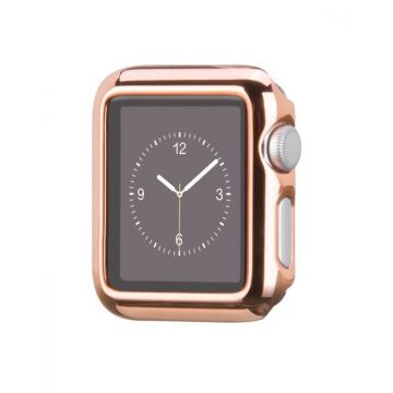 Kit Apple Watch 42mm Bracelet + Case Hoco Pink Gold