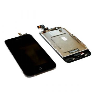 Complete LCD touch screen kit for iPhone 3G Black