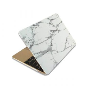 Coque soft touch style marbre MacBook Retina 13""