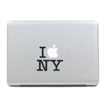 Sticker MacBook I Love NY