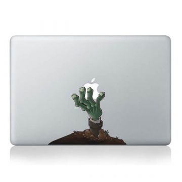 Zombie hand MacBook sticker