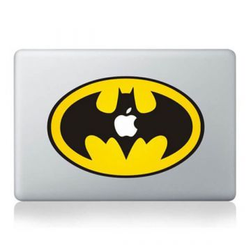 Sticker MacBook Batman Couleur