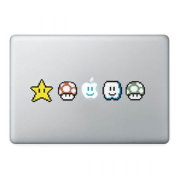 Mario Bros MacBook sticker