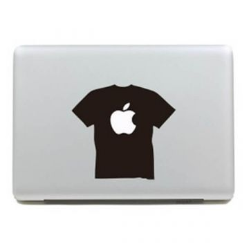 Apple shirt MacBook sticker
