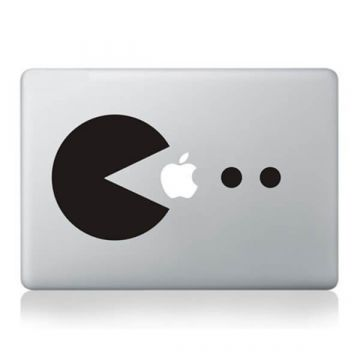 Sticker MacBook Pac-man