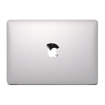 Punk haar MacBook sticker
