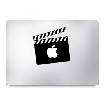 Filmklapper MacBook sticker