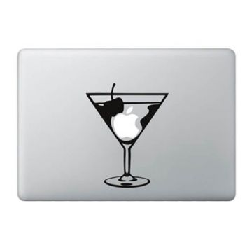 Martini cocktail MacBook sticker