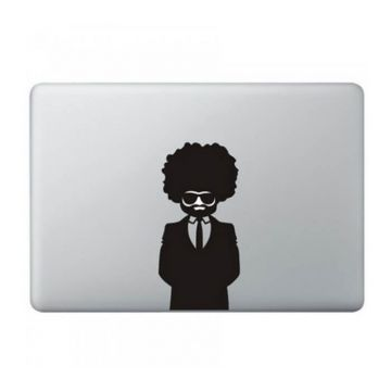 Sticker MacBook Afro