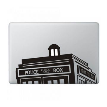 Sticker MacBook Doctor Who