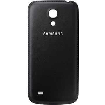 Originele lederen backcover Samsung Galaxy S4 zwart