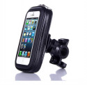 Black bicycle support for iPhone 6
