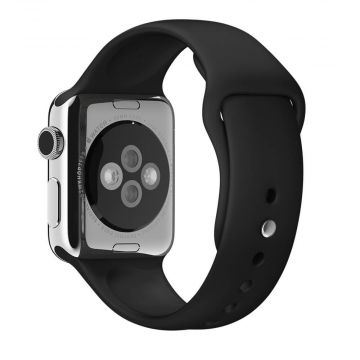 Bracelet Apple Watch 44mm & 42mm Noir S/M et M/L