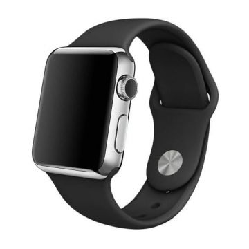 Black Apple Watch 42mm Strap S/M M/L