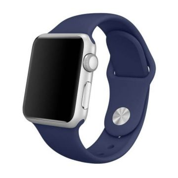 Midnight Blue Apple Watch 42mm Strap S/M M/L