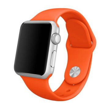 Bracelet Apple Watch 44mm & 42mm Orange S/M et M/L
