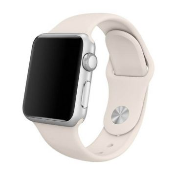 Bracelet Apple Watch 44mm & 42mm Blanc Antique S/M et M/L