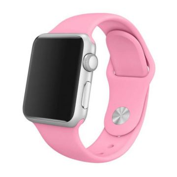Bracelet Apple Watch 42mm Rose pâle S/M et M/L