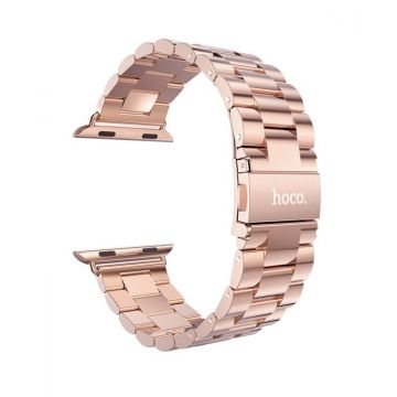 Bracelet Or rose acier inoxydable HOCO Apple Watch 38 mm