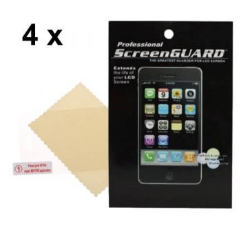 Pack de 4X Films de Protection écran Iphone 3/3GS AV Brillant (avec packaging)