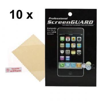 Pack de 10 X Films de Protection écran Iphone 3/3GS AV Brillant (avec packaging)