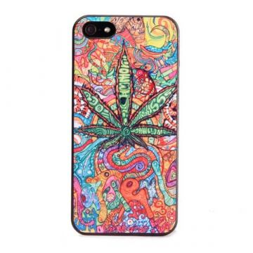 Cannabis hard cover case for iPhone 5/5S/SE