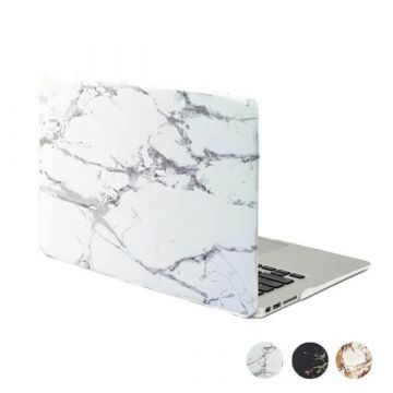 Coque soft touch style marbre MacBook Pro 15""