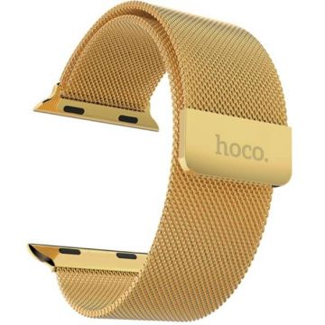 Hoco goud milanees bandje Apple Watch 38mm