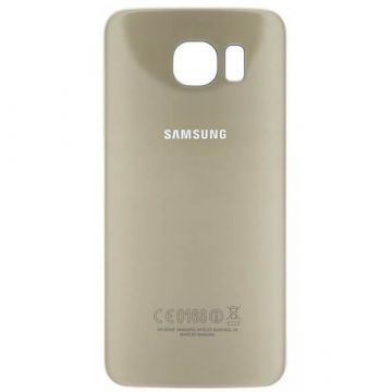 Original Replacement back cover gold Samsung Galaxy S6 Edge