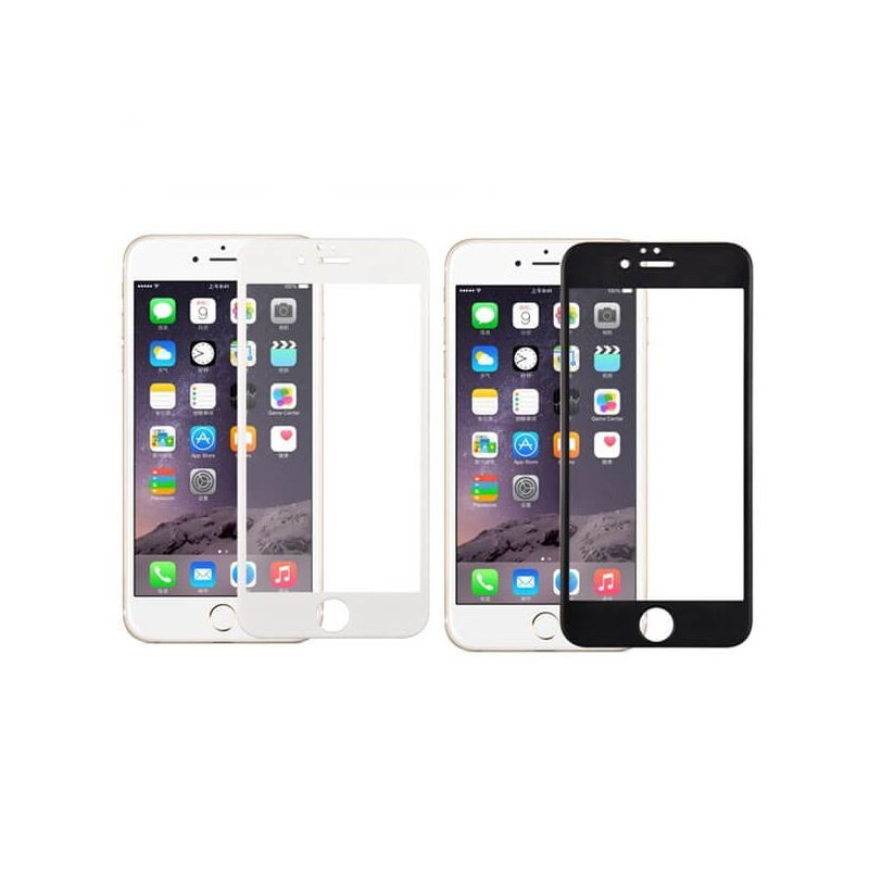Tempered glass screen protector for iPhone 6Plus/6S Plus - Black or white