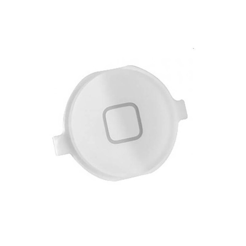 Bouton Home iPhone 4 4S Blanc