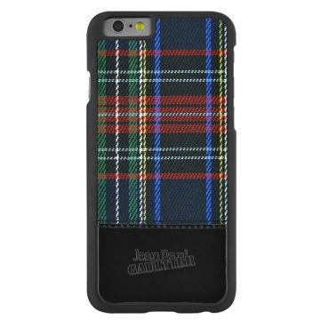Coque Jean-Paul Gaultier Black Tartan iPhone 6/6S